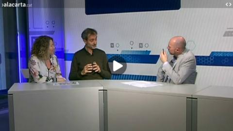 Entrevista TV de Girona: Josep Maria Canyelles i Mercè Casals Edificis Positius