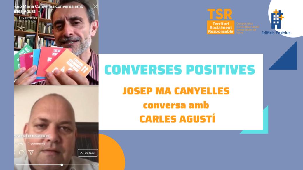 Careta entrada vídeo conversa_Carles Agustí