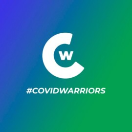 logo covid warriors